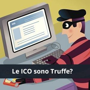 ico criptovalute truffe