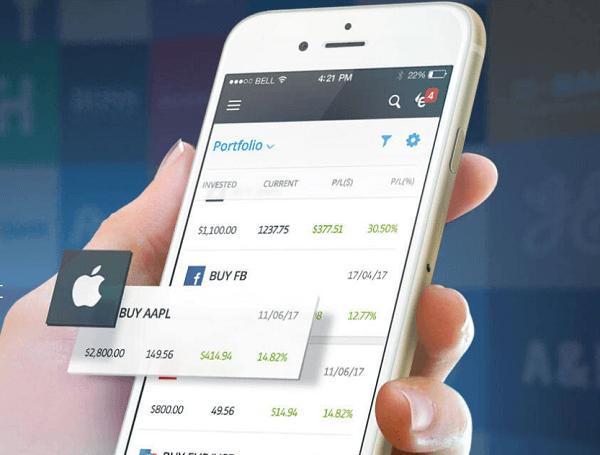 trading app mobile
