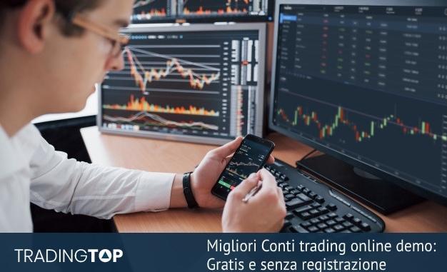 trading demo senza registrazione come funziona il portafoglio bitcoin