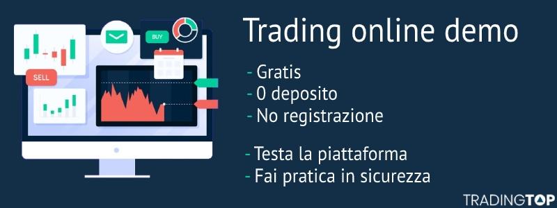 trading demo senza registrazione