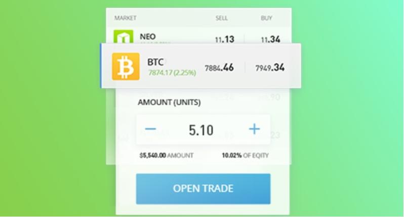 trading bitcoin etoro