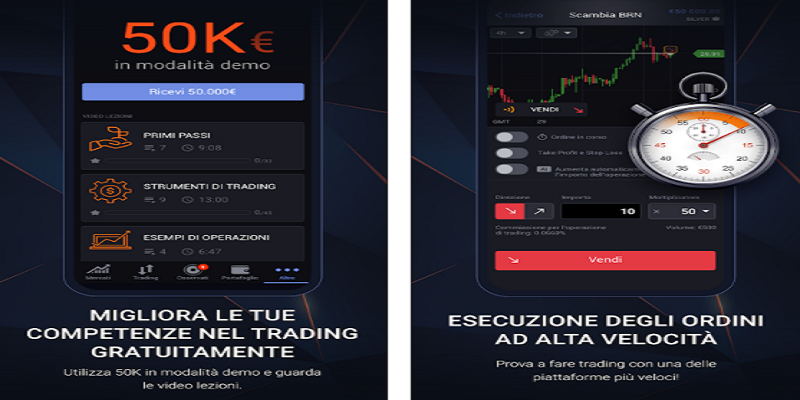 app trading con piccole somme