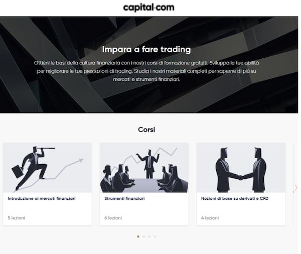 capital.com corsi manuali