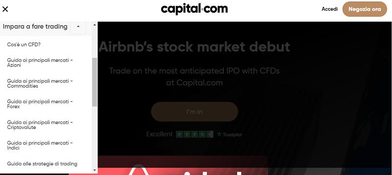 capital.com formazione