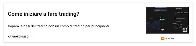 commodities trading corso