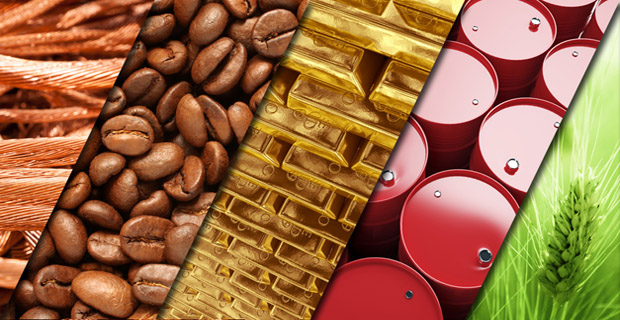 trading finanziario commodities
