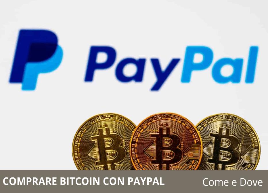 puoi comprare bitcoin con paypal