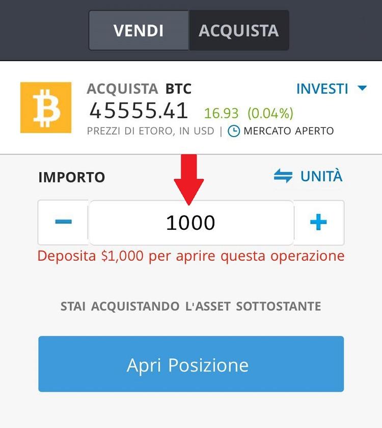 comprare bitcoin con paypal su etoro